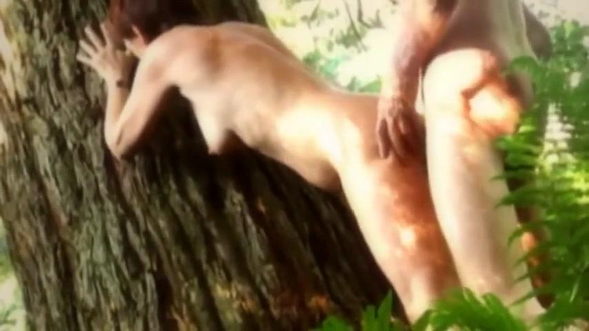 sex nackt wald